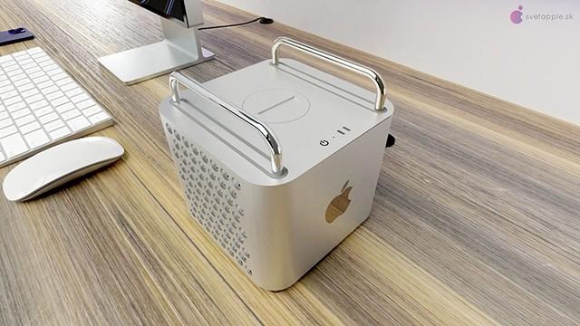 Mac Pro 2021概念渲染图曝光,依然刨丝器设计,搭载苹果自研处理器