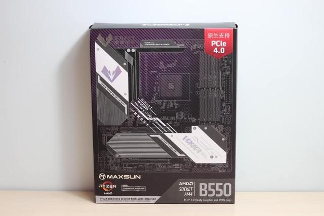 铭瑄iCraft B550M WIFI电竞之心开箱