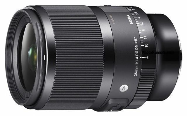 适马ART35 1.4无反版镜头曝光,标配光圈环
