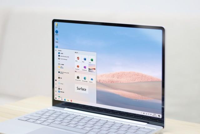 最便携的田牌轻薄本|Surface Laptop Go体验