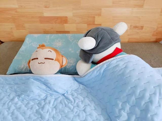 炎炎夏日每晚深睡,你需要滑滑软软香香冰冰的被