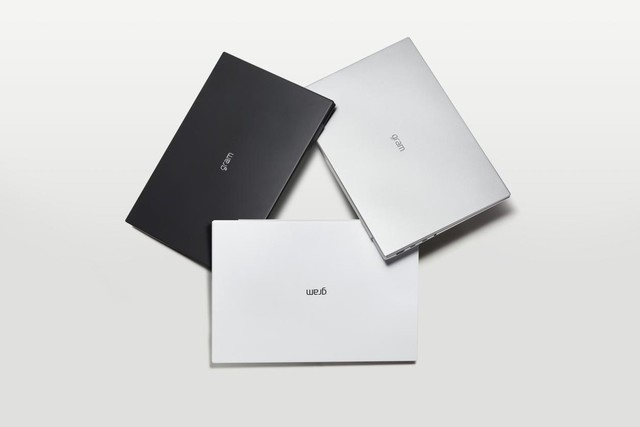 LG gram 16三种配色设计,哪款是你的选择