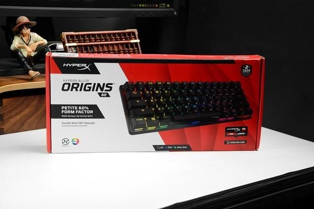 61键比104键还贵,贵在哪里?HyperX起源60开箱简评