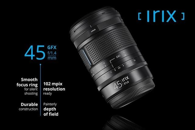 山寨:Irix 45mm F1.4改卡口支持GFX