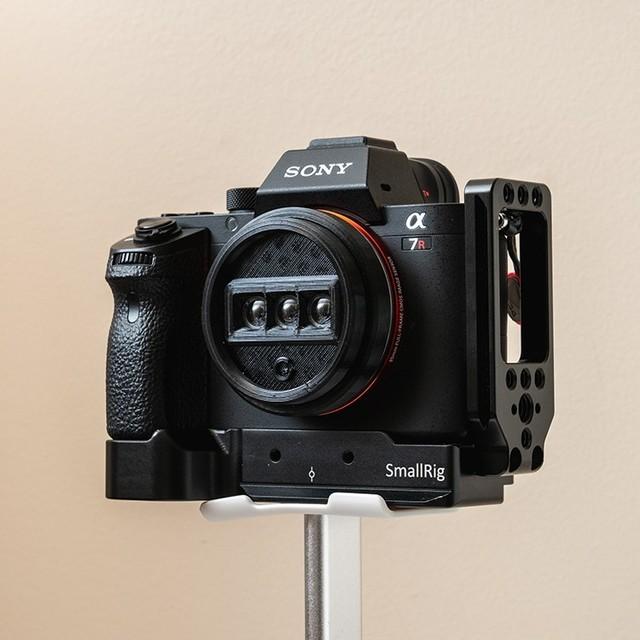 只要70美元,无反秒变3D相机