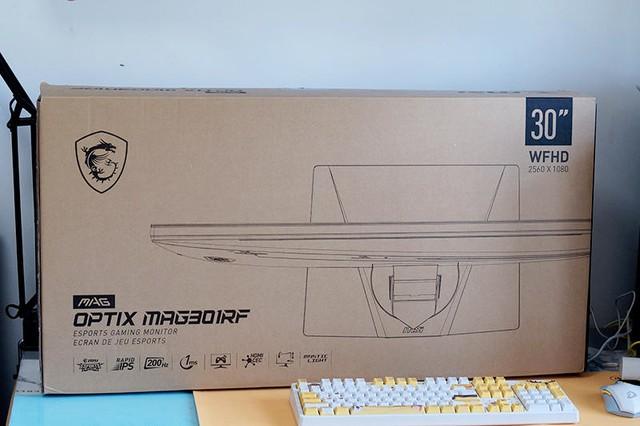 微星Optix MAG301RF显示器体验