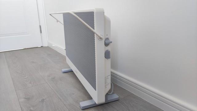 老罗品质认证,智米石墨烯电暖器为你的冬天添把火