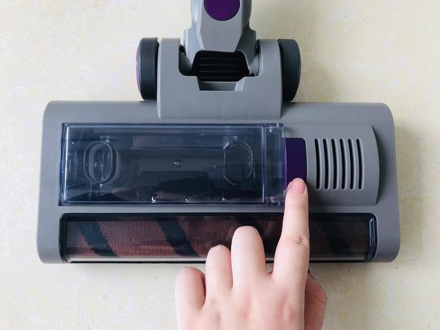 吉米P7小轻杆无线吸尘器体验:小巧便携吸力大,清洁好帮手