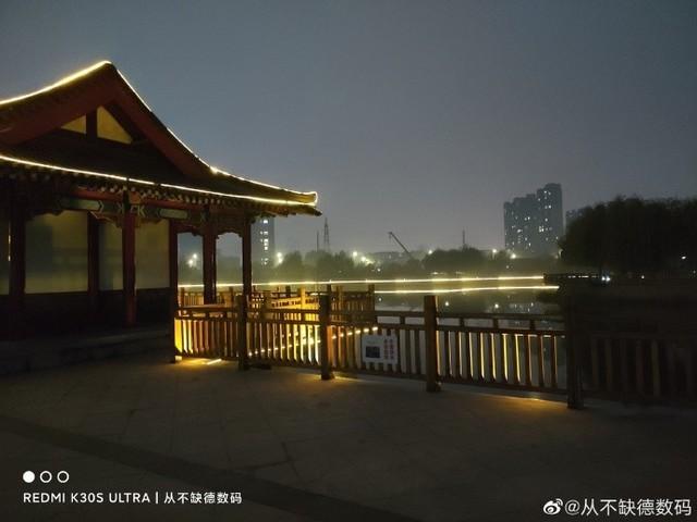 晒图:redmi k30s ultra的夜拍表现