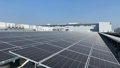"""TCL华星G11光伏项目并网投产,打造""""绿色工厂"""""""