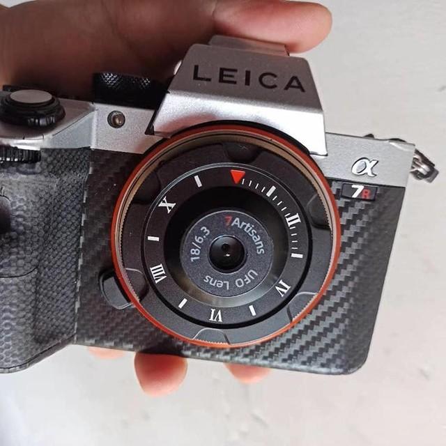 七工匠18mm f/6.3饼干头曝光 只有镜头盖大小