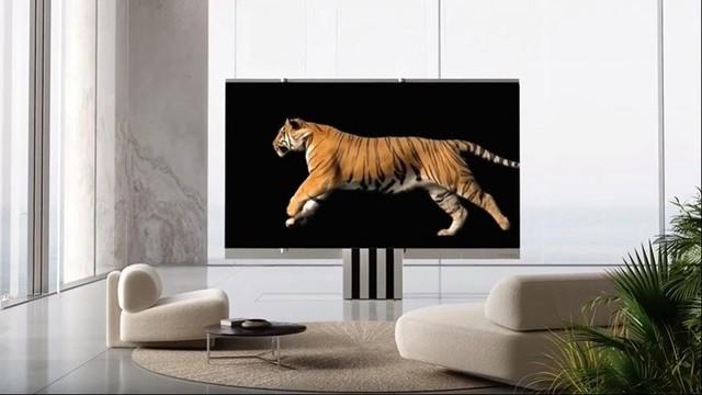 165英寸巨屏可折叠电视M1售价高达260万人民币