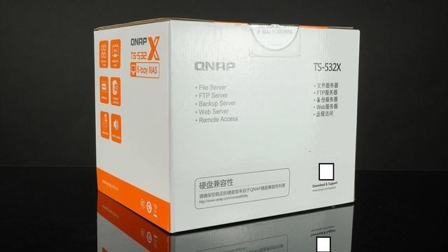万兆NAS剪4K!威联通QNAP TS-532X+希捷酷狼