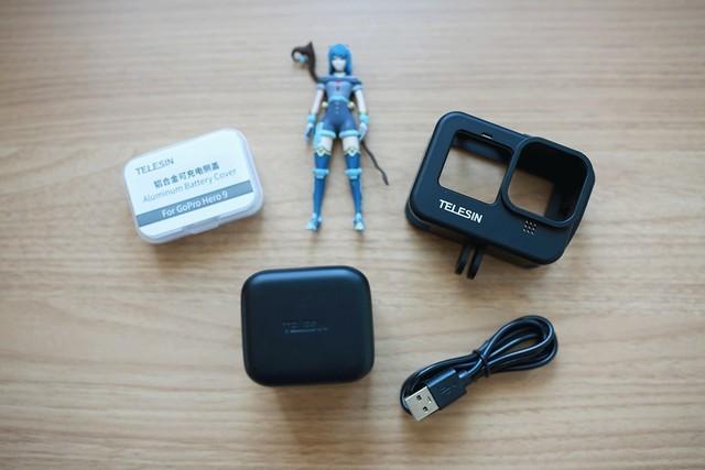 让续航无烦恼,泰迅GoPro9配件必选套装之体验