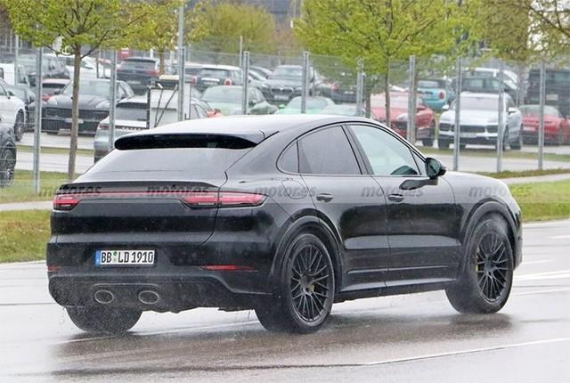 新款保时捷Cayenne Coupe最新谍照曝光:外观升级 有望2023年发布
